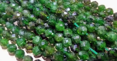 Russian Chrome Diopside Beads